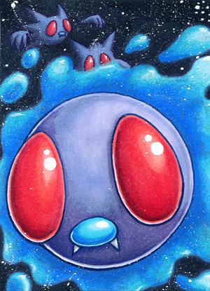 Pokémon-Zeichnung: Smettlak