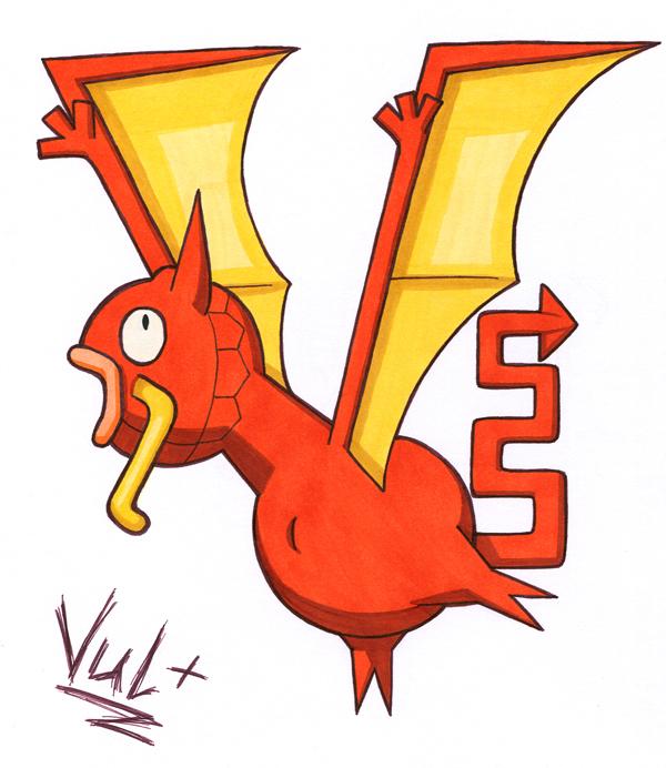 Pokémon-Zeichnung: Egypt Magidactyl?