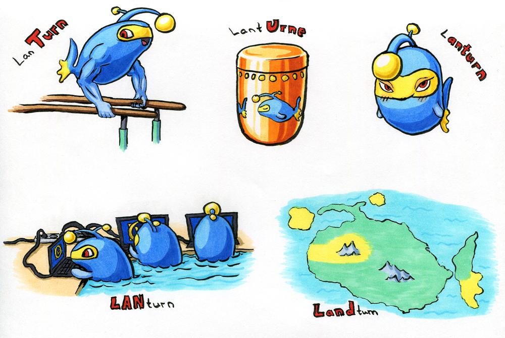 Pokémon-Zeichnung: Punturn