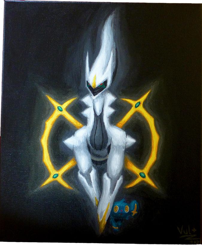 Pokémon-Zeichnung: Arceus