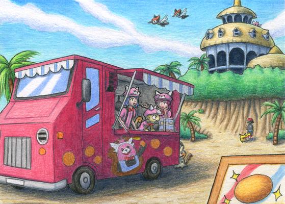 Pokémon-Zeichnung: Alola