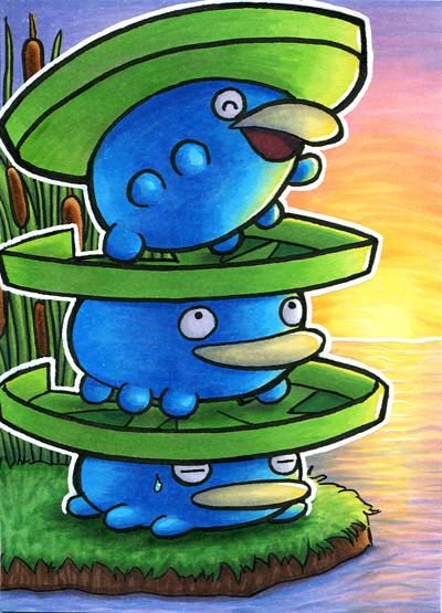 Pokémon-Zeichnung: Loturmzel