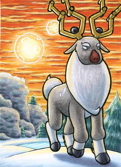 Pokémon-Zeichnung: Damythir