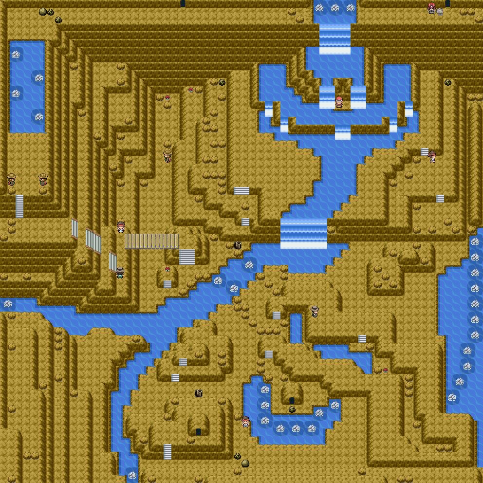 Pokémon-Map: MWBA#1 | Höhle mit Gewässer