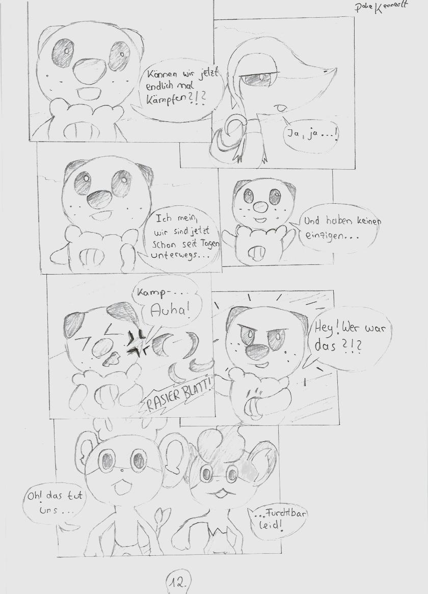 Pokémon-Zeichnung: Seite 12
