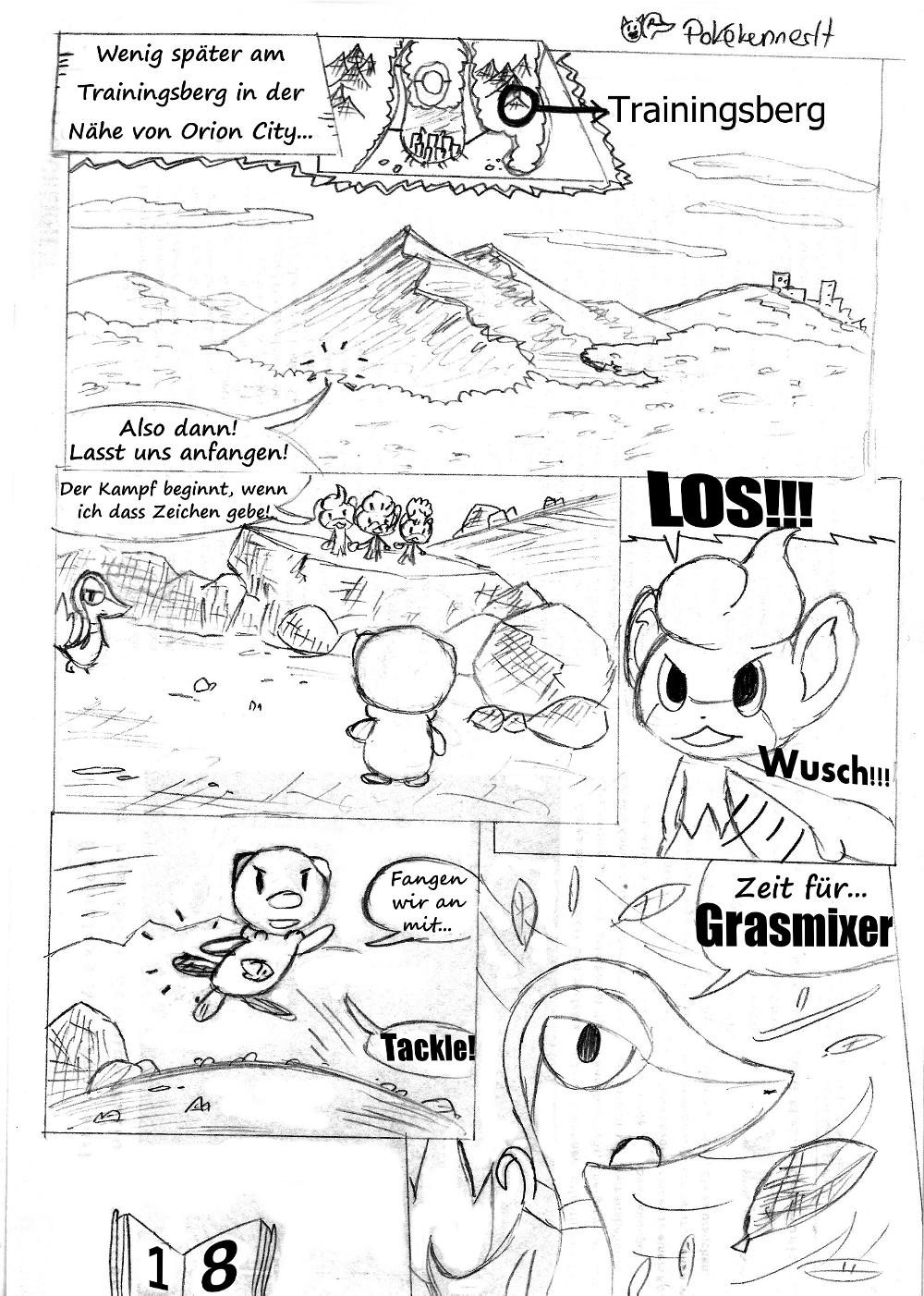 Pokémon-Zeichnung: Seite 18