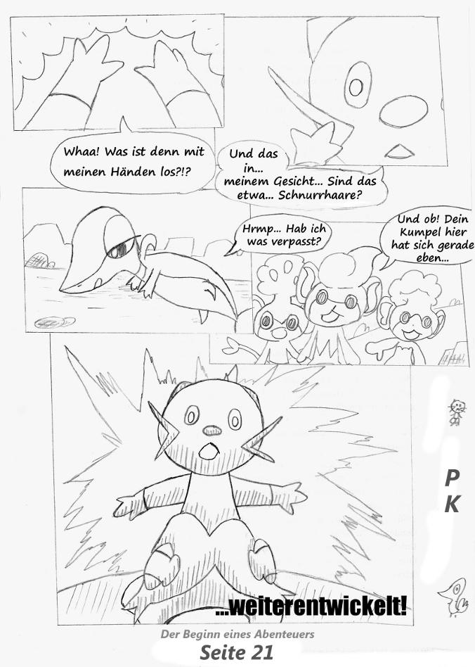 Pokémon-Zeichnung: Seite 21