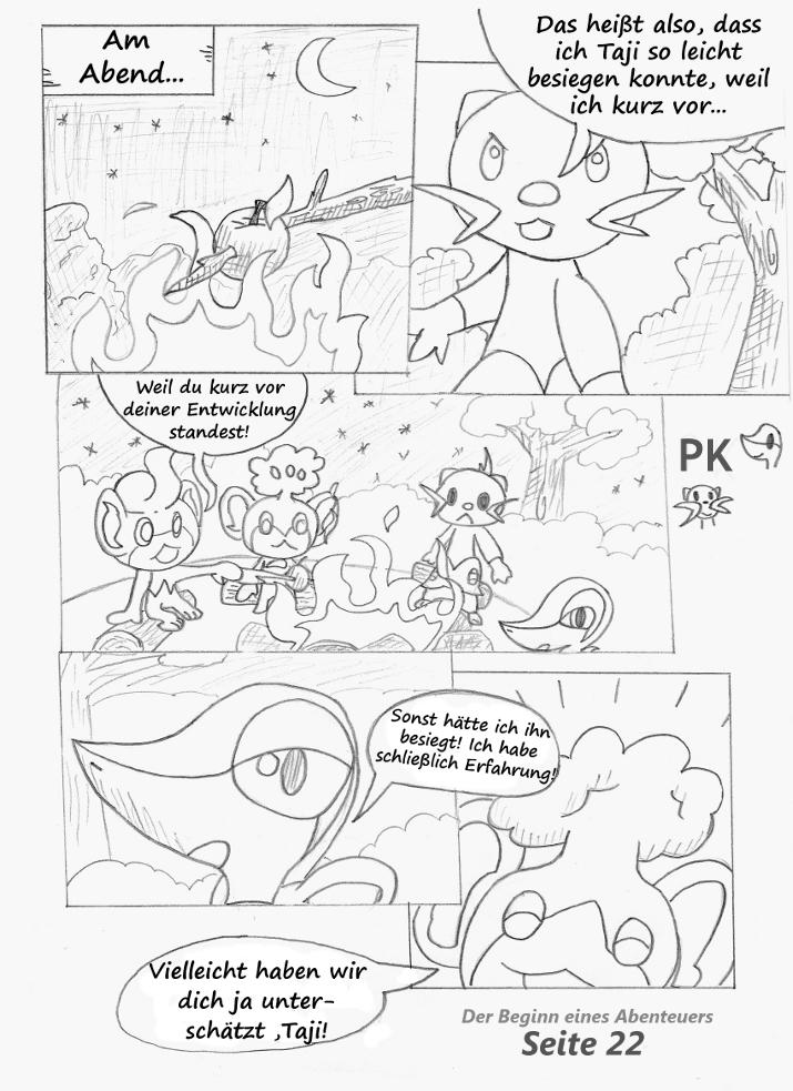 Pokémon-Zeichnung: Seite 22