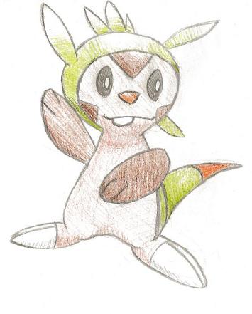 Pokémon-Zeichnung: Igamaro