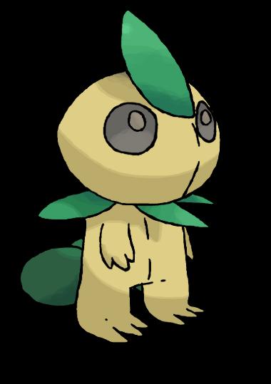 Pokémon-Zeichnung: Walgno - Waldgeist Pokémon