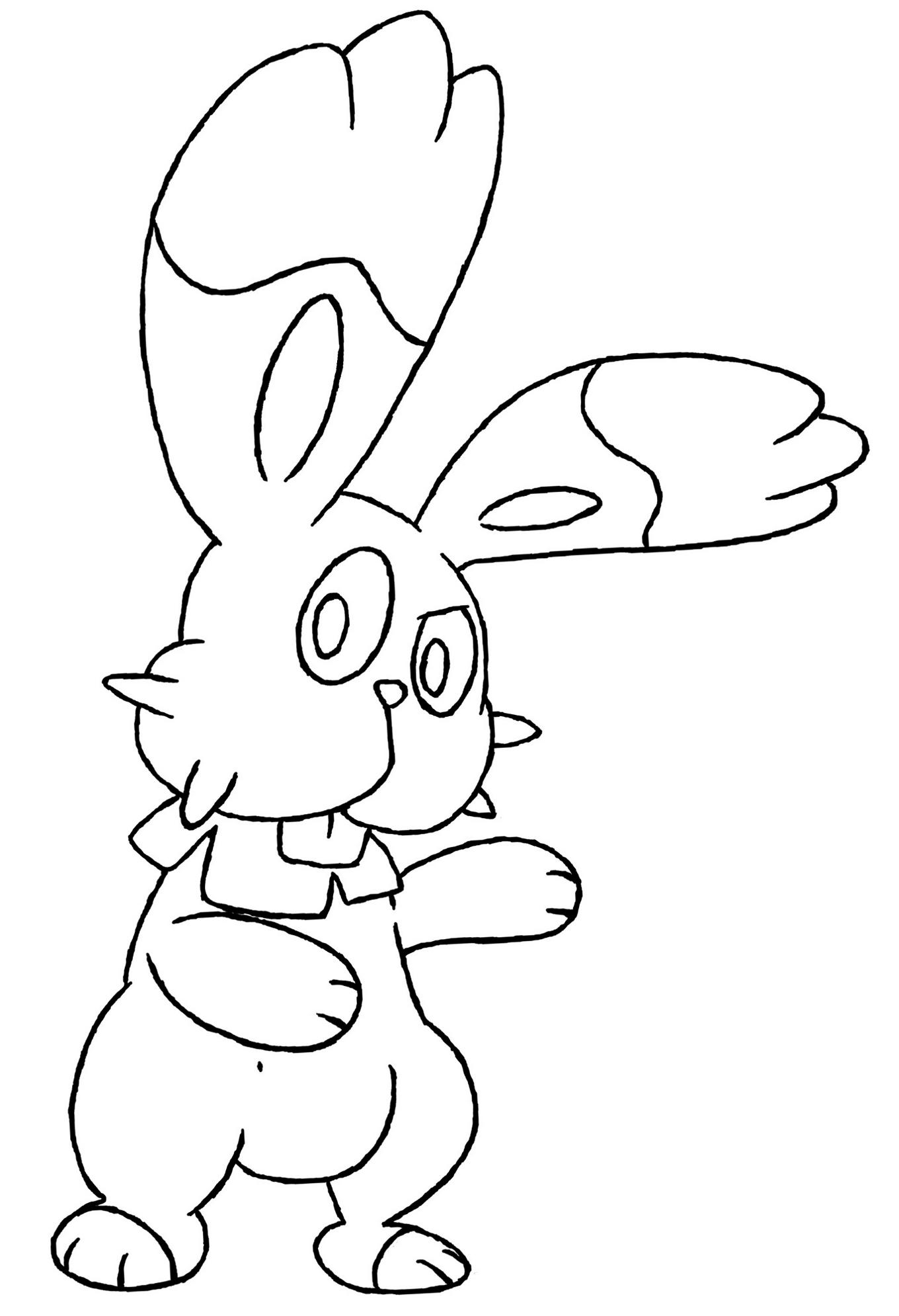 Zeichnung Scoppel Lines Pokémon Fanart