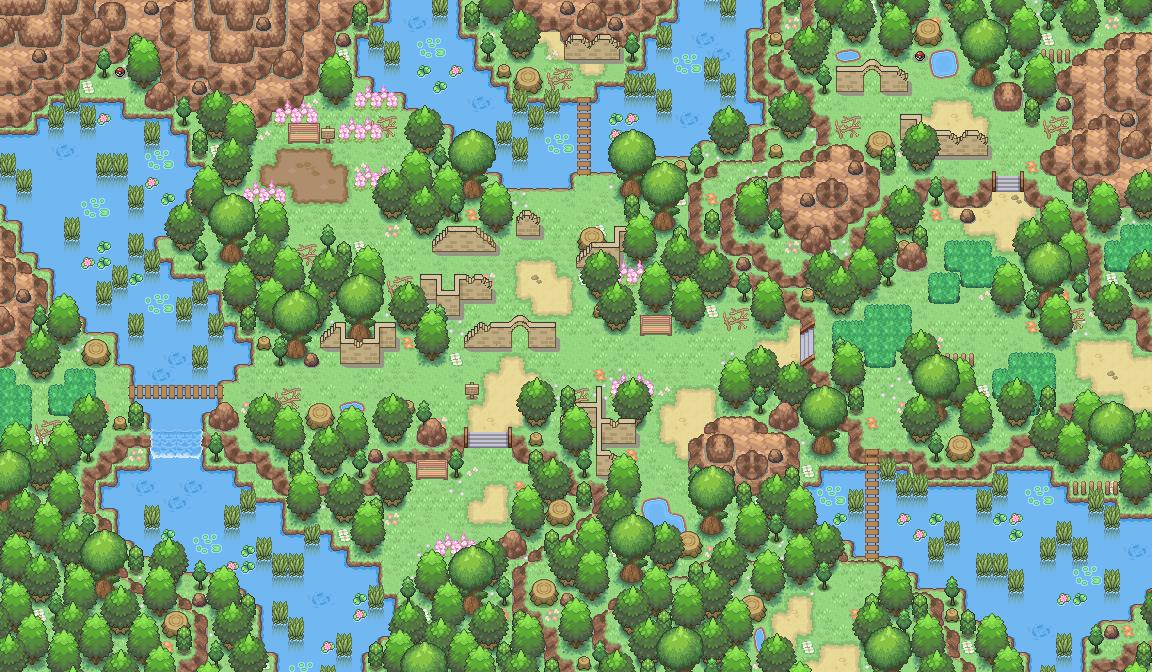 Pokémon-Map: Hokaido-Ruinen