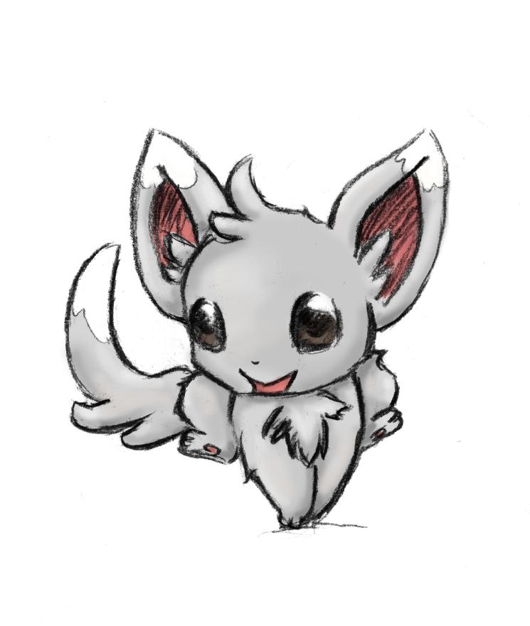 Pokémon-Zeichnung: Chirami