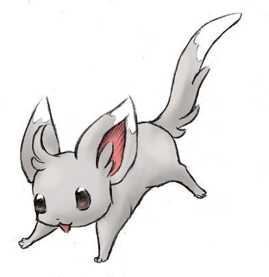 Pokémon-Zeichnung: Chirami die Zweite