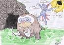 Angriff auf Baby-Mamutel
