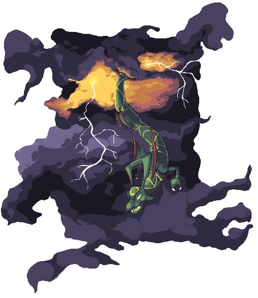 Pokémon-Pixelart: Delta_Smaragd