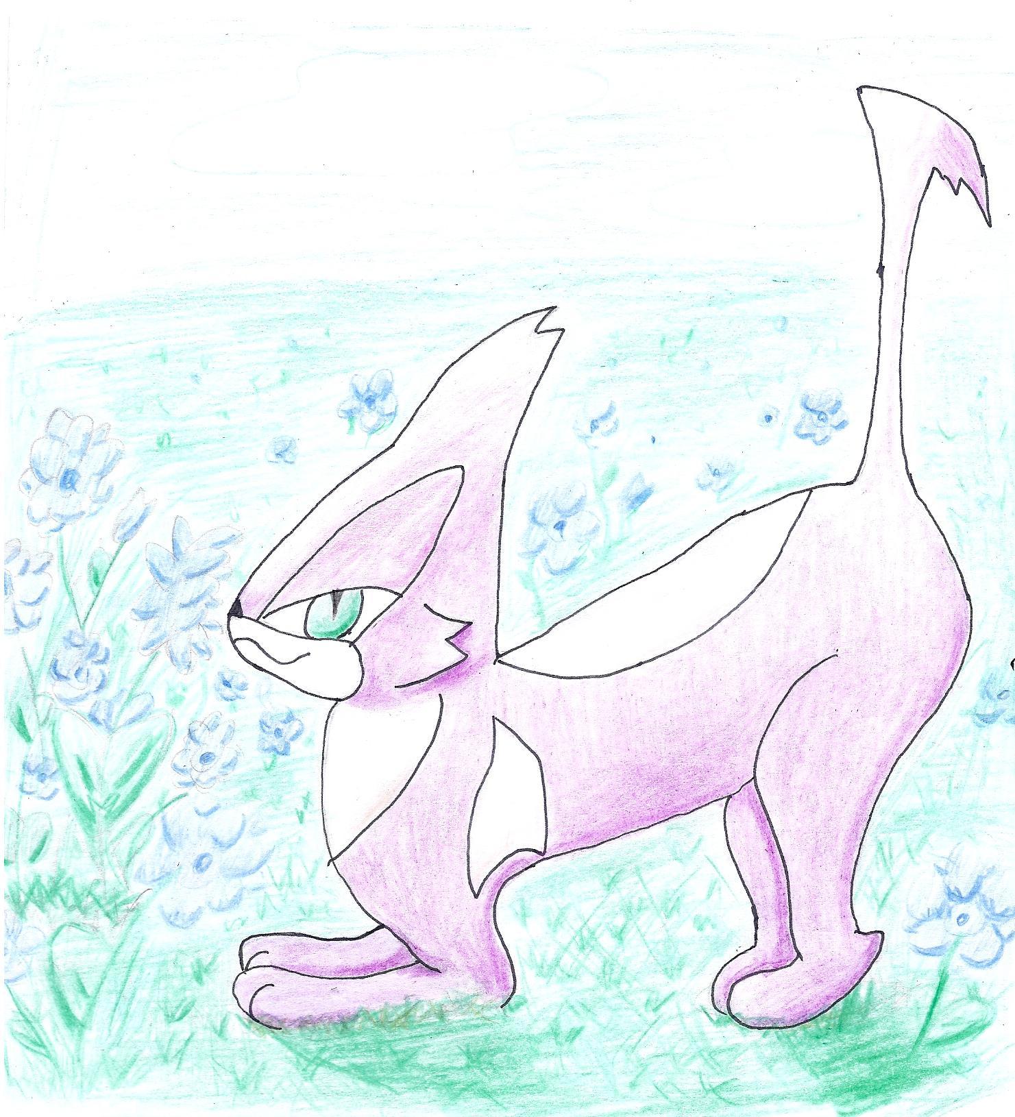 Pokémon-Zeichnung: choroneko