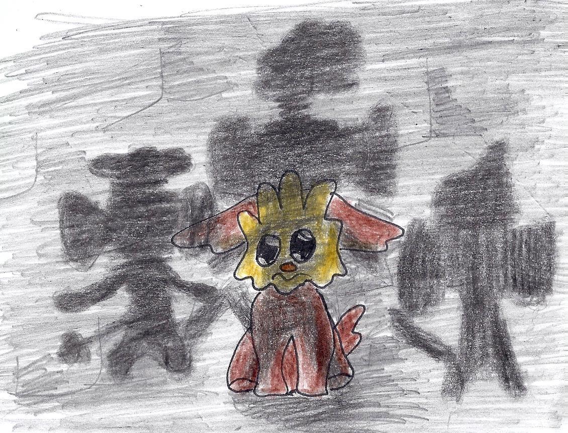 Pokémon-Zeichnung: Mamiiiii!!