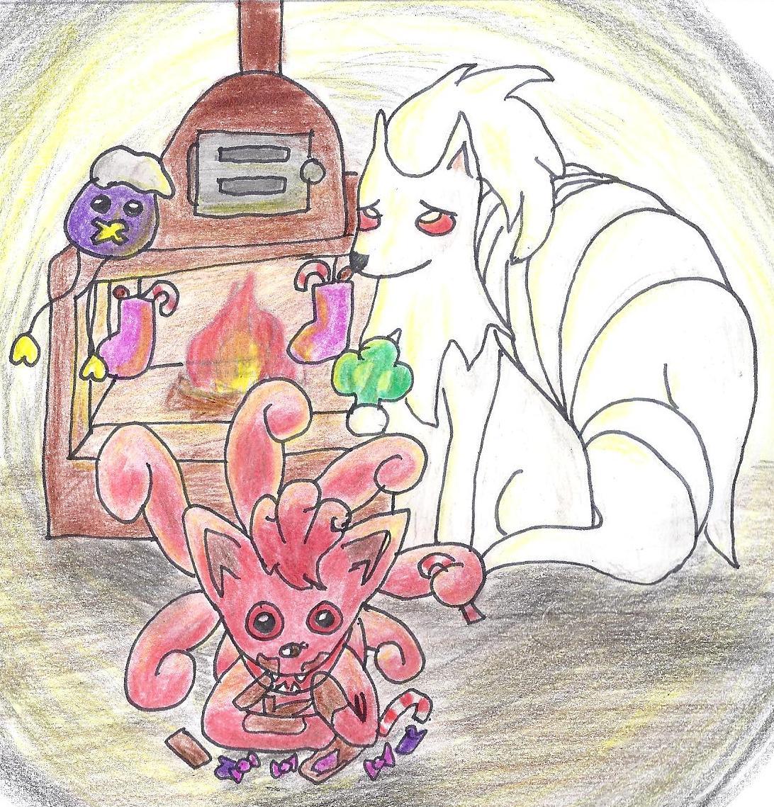 Pokémon-Zeichnung: stopf, schling, schmatz, schlabber, schlürf