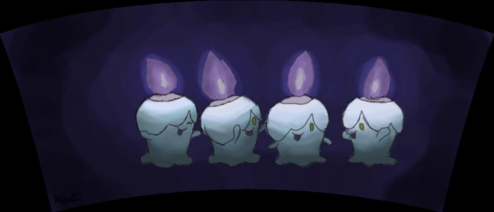 Pokémon-Fanart: Lichtels