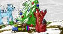 Weihnachten bei Emdo und Dohail