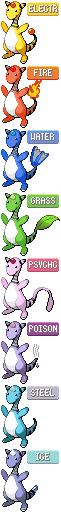 Pokémon-Fanart: Ampharos Multi-Retype