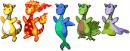 Ampharos Multi-Retypes