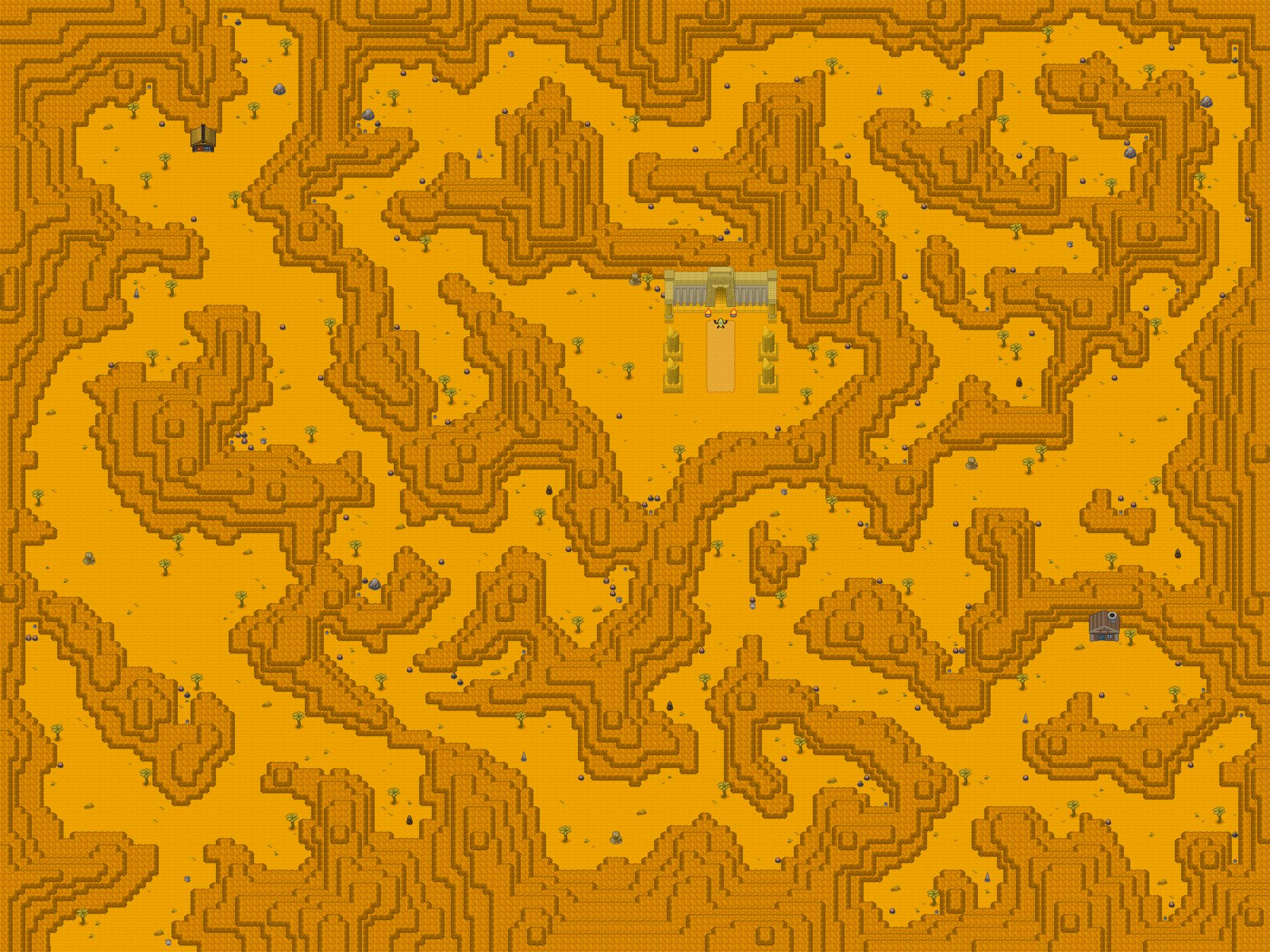 Pokémon-Map: Wüstengebirge