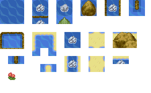 Pokémon-Tileset: Advance Tileset