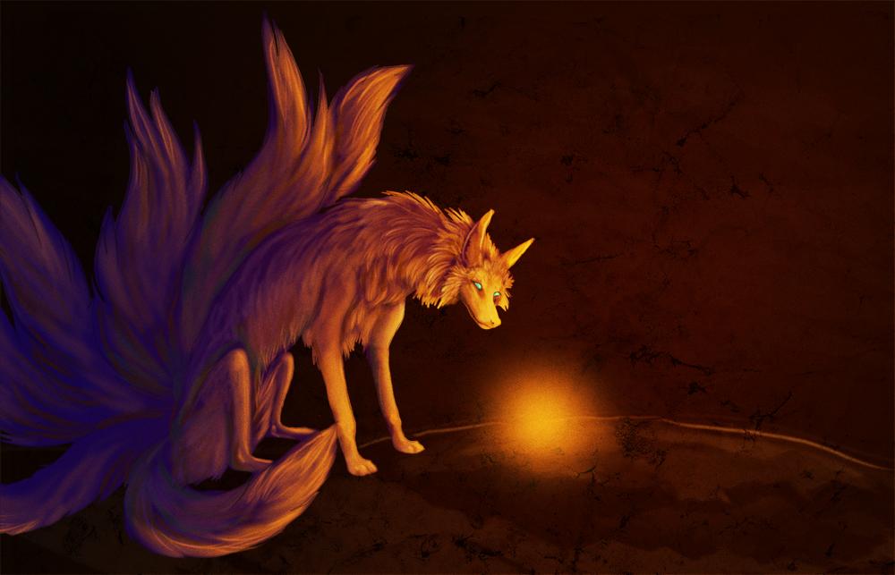 Pokémon-Zeichnung: Es leuchtet :D