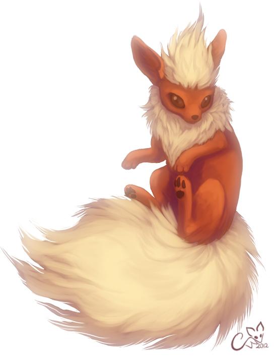 Pokémon-Zeichnung: Flamara :D