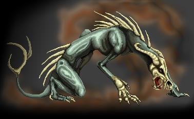 Pokémon-Pixelart: drago-skull-teil