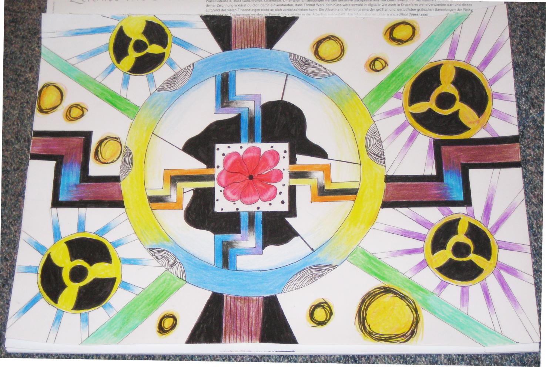 """Pokémon-Zeichnung: """"Solar Sect of Mystic Wisdom ~ Nuclear Fusion"""""""
