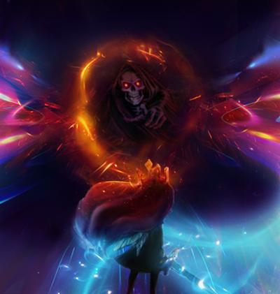 Pokémon-Fanart: Fighting against the darkness