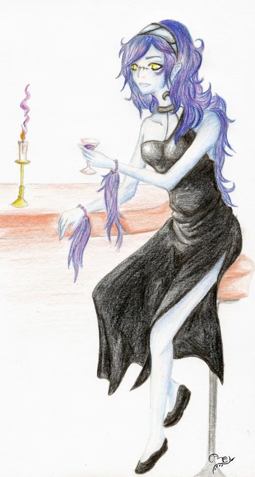 Pokémon-Zeichnung: Shanderaa Gijinka