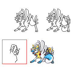 Pokémon-Sprite: Fake Pokemon Kikane