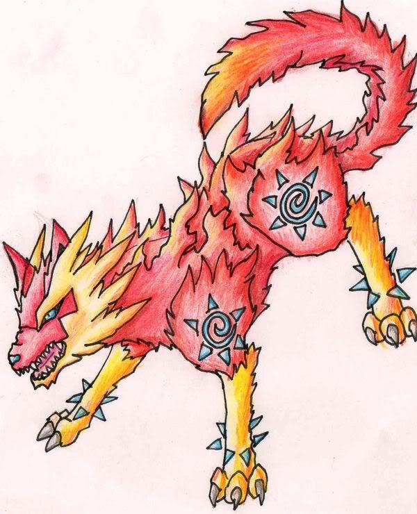"""Pokémon-Zeichnung: Fake Pokemon """"Savalgar"""""""