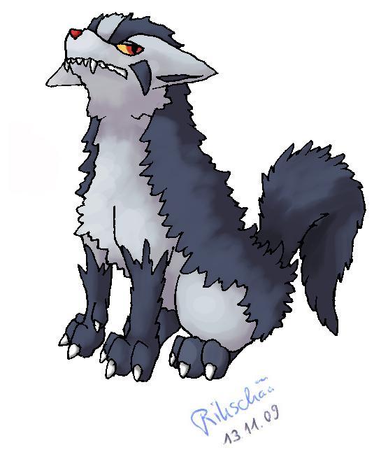 Pokémon-Zeichnung: Magnayen