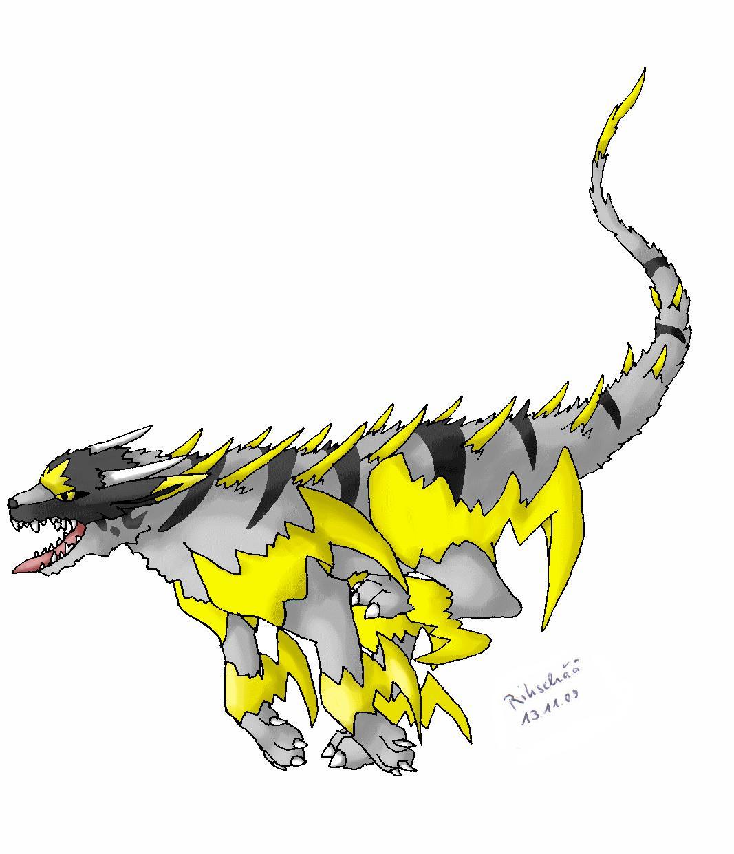 Pokémon-Zeichnung: Fake Poke Fendow *new*