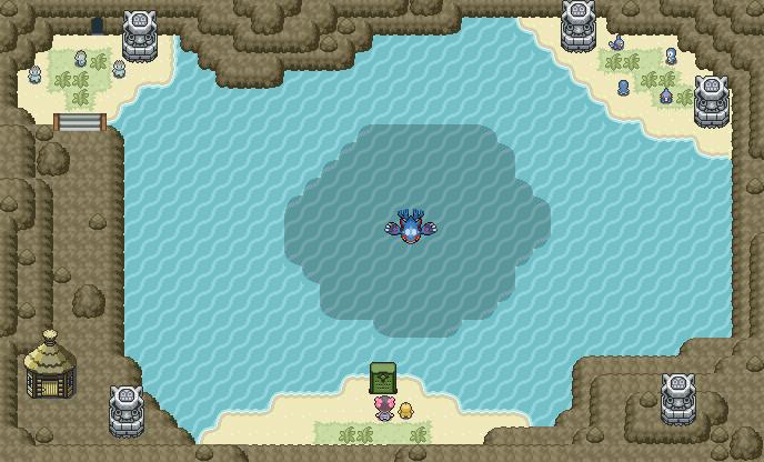 Pokémon-Map: Kyogres Höhle