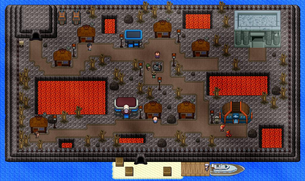 Pokémon-Map: Versteck dich Magbrant
