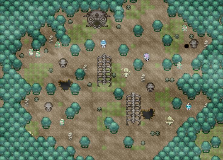 Pokémon-Map: Toten-Planet