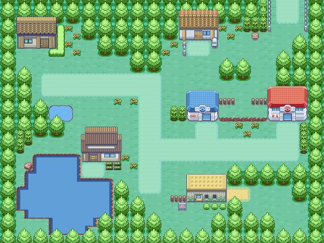 Pokémon-Map: Dorf