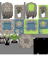 Pokémon-Tileset: Flying Island