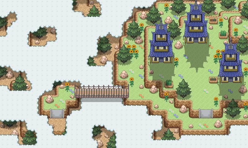 Pokémon-Map: Tempel über den Wolken