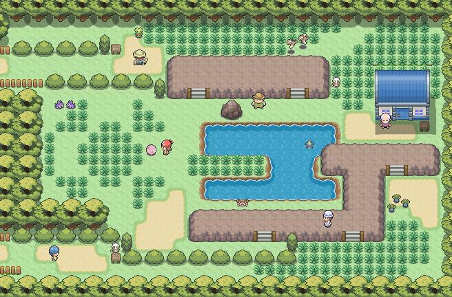 Pokémon-Map: Nostalgie