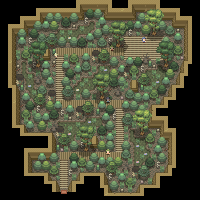 Pokémon-Map: Arena Gift/Pflanze