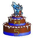 Pokémon-Pixelart: Pokefans Torte