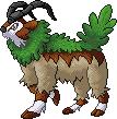 Pokémon-Pixelart: Gogoat