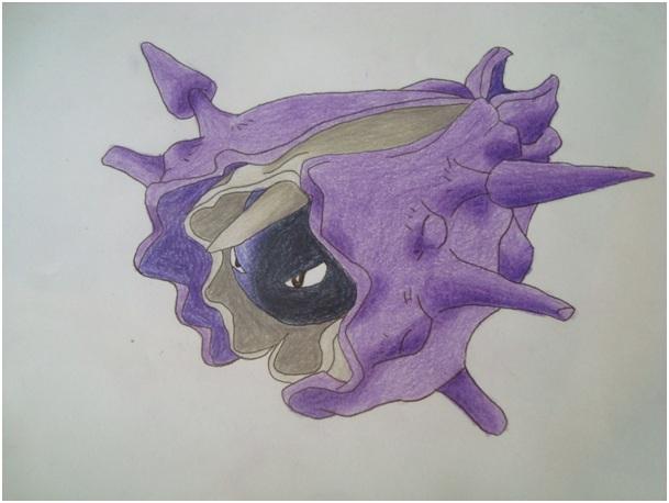 Pokémon-Zeichnung: Austos